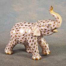 Herend Porcelain Elephant ©2001   3.75