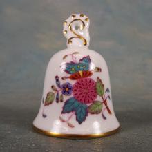 Herend Porcelain Bell