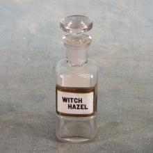 Small Witch Hazel Apothecary Jar