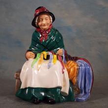 3 Royal Dalton Porcelain Figures