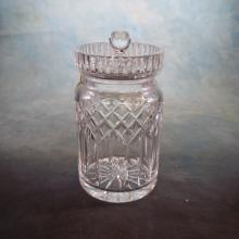 Waterford Cut Crystal Biscuit Jar