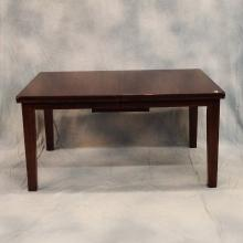 Mahogany Dining Table w/Hidden Leaf