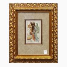 Salvador Dahli Framed Print
