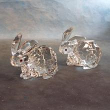 Pr Waterford Crystal Marquis Rabbits/Bunnies     5