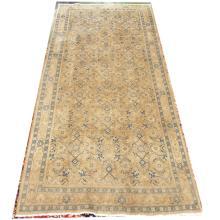 Persian Handmade Wool Mahal Runner  4'8x10'