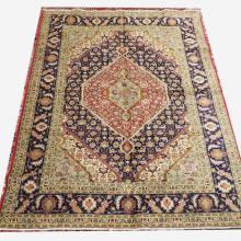 Handmade Wool Tabriz Rug  8'3x11'1