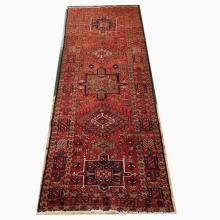 Handmade Persian Wool Runner   3'9x11'4