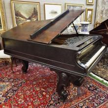 1885 Decker Brother's (New York) Parlor Grand Piano [#9632] w/Bench   (6'1