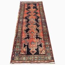 Handmade Wool Zanjon Rug  3'4x9'