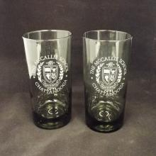 5 McCallie School (Chattanooga, TN, USA) Water Glasses