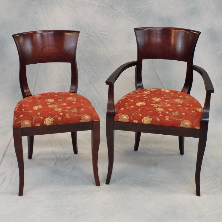 8 stickley dining chairs