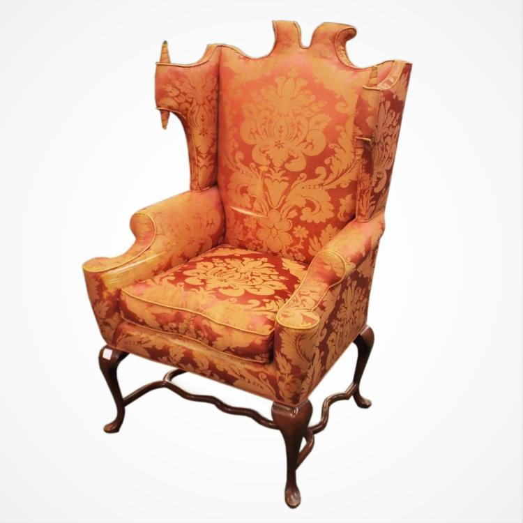 Unique Upholstered Chairs: Unique Upholstered Arm Chair