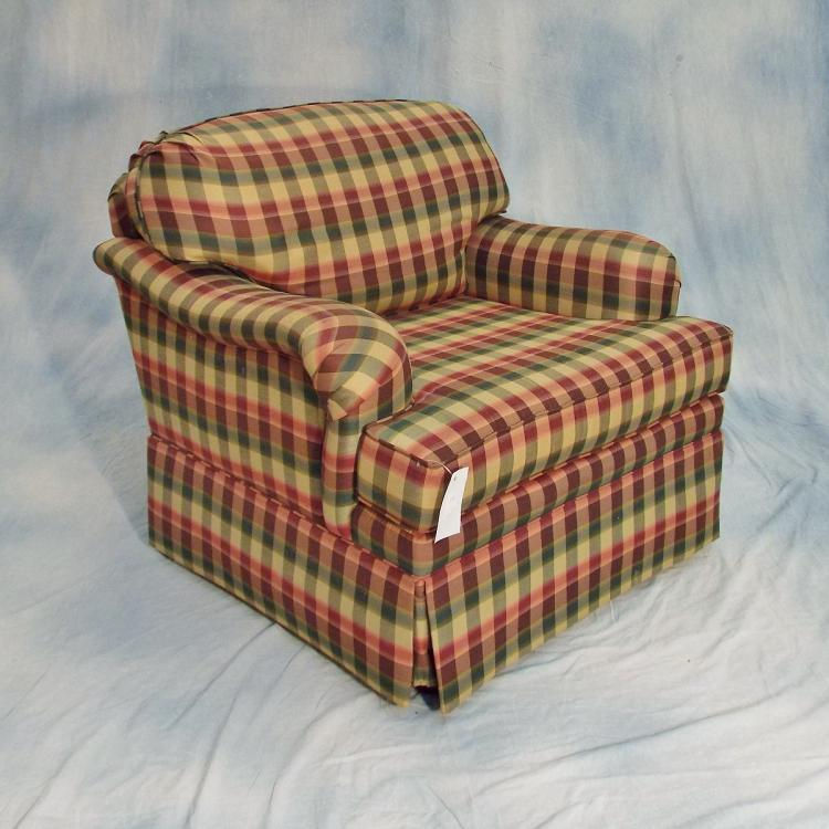 Fabulous Upholstered Armchair Ottoman By Norwalk Furniture Forskolin Free Trial Chair Design Images Forskolin Free Trialorg