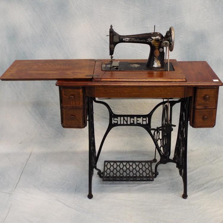 antique sewing machine parts singer
