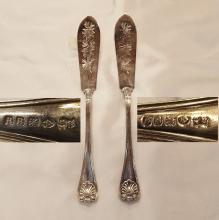 2 English Fish Knives    8.5
