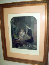 Alfred Lucas Sir Edwin Henry Landseer Children Rabbits