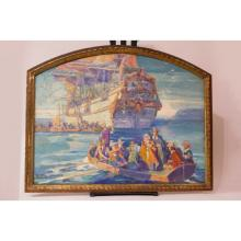 Study for a mural of The Landing of the Pilgrims