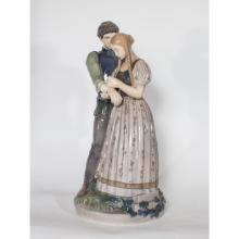 Royal Copenhagen Porcelain Knight and Maiden
