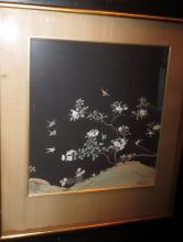 Chinese Paintings of Landscapes on Black Ground