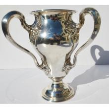 3 Handled Sterling Silver Loving Cup