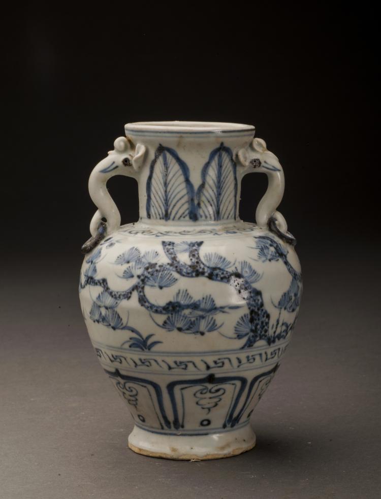 antique blue and white porcelain vase. Black Bedroom Furniture Sets. Home Design Ideas
