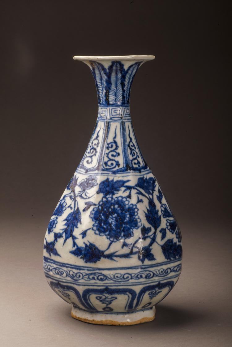 blue and white porcelain vase. Black Bedroom Furniture Sets. Home Design Ideas