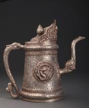 Silvering Dragon Pot