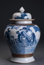 Porcelain Fulushou General Pots