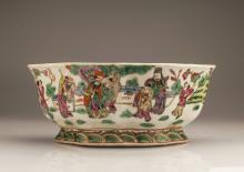 Five Colors Porcelain Pot for Narcissus