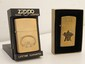 Lot of 2 Zippo Lighters with Cases