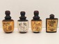 Lot of 4 Tibetan Yak Bone Erotic Snuff Bottles