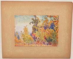 Vernon Ellis Watercolor