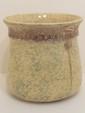 Spongeware Yellowware Master Chamber Pot