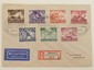 Nazi Luftpost Cover with German Stamps