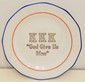 KKK Ku Klux Klan Presentation Plate