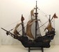 Wood Model of Spanish Nao Sailing Ship
