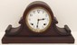 Sessions Enamel Dial Tambour Mantel Clock