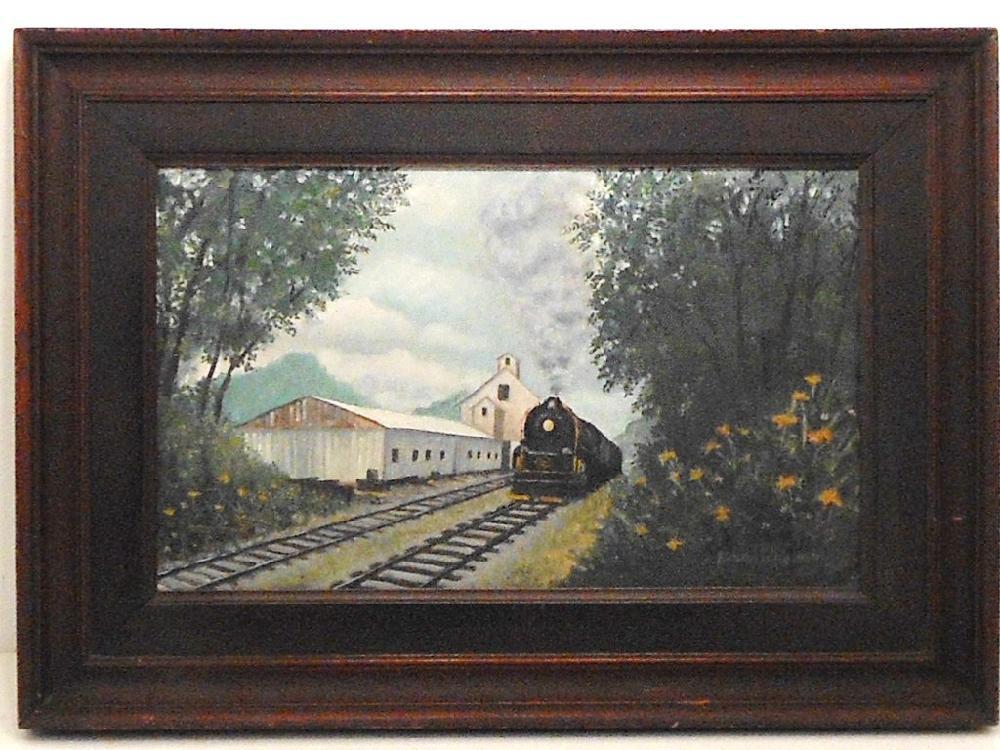 OOC Richard Lilley Steam Locomotive