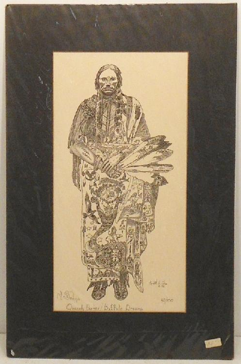 Drawing Meredith S. Johns Quanah Parker