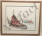 Colored Drawing Sharon Saseen Boat Named Savannah