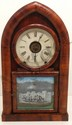 New Haven Beehive Gothic Shelf Clock