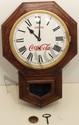 Waterbury Octagon Regulator Coke Clock
