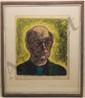 Woodblock Ralph Taylor  'Self Portrait'
