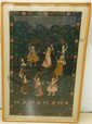 Framed India Tapestry Wall Hanging