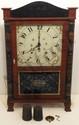 C&N Jerome Pillar & Scroll Clock