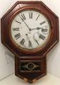 Ansonia Drop Octagonal Office Wall Clock
