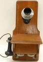 Kellogg Small Fiddleback Wall Telephone