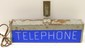 Western Electric Double-Sided Telephone Sign