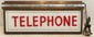 Vintage Hanging Electric Telephone Sign