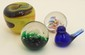 Lot of Four Art Glass Paperweights #1